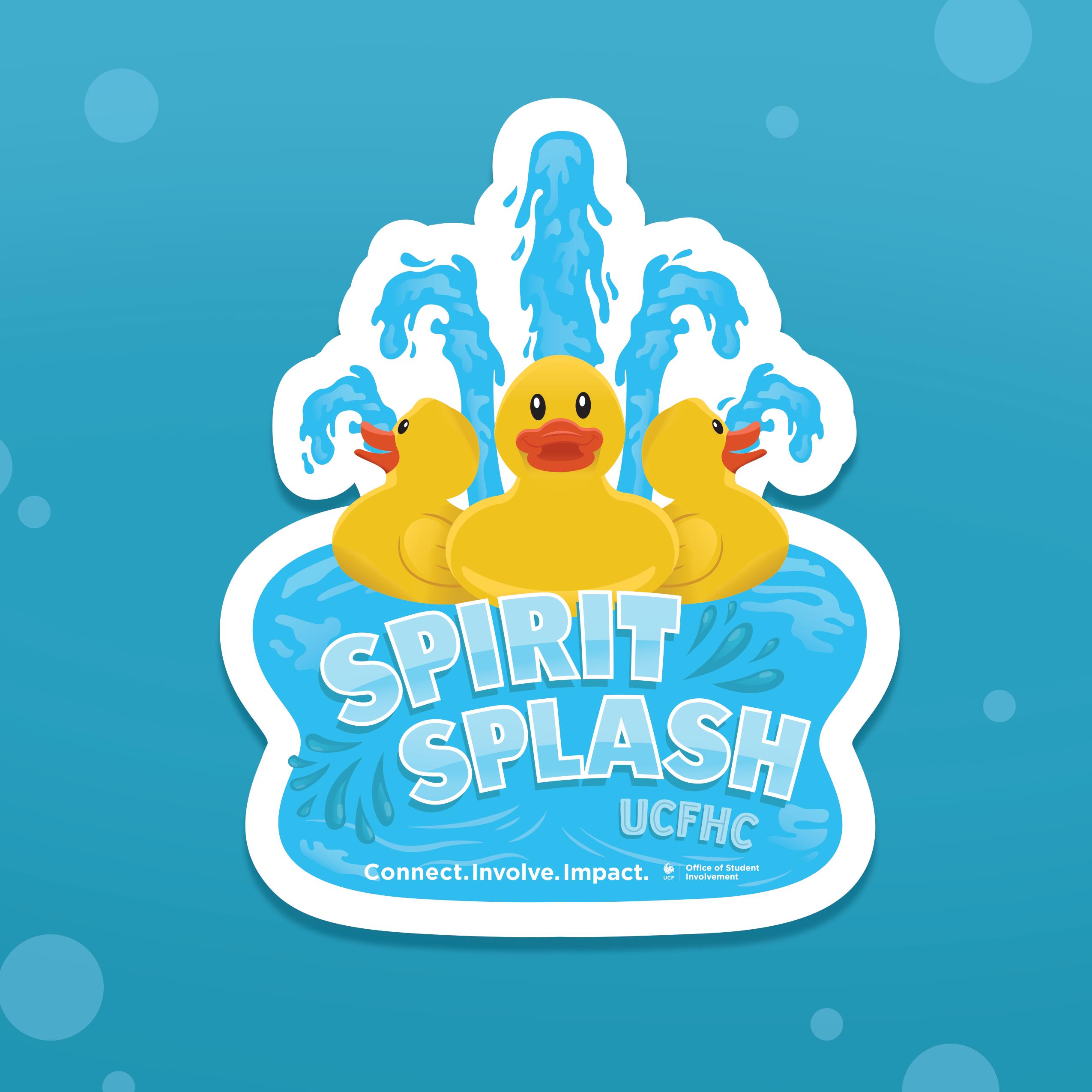 OSI Spirit Splash Sticker