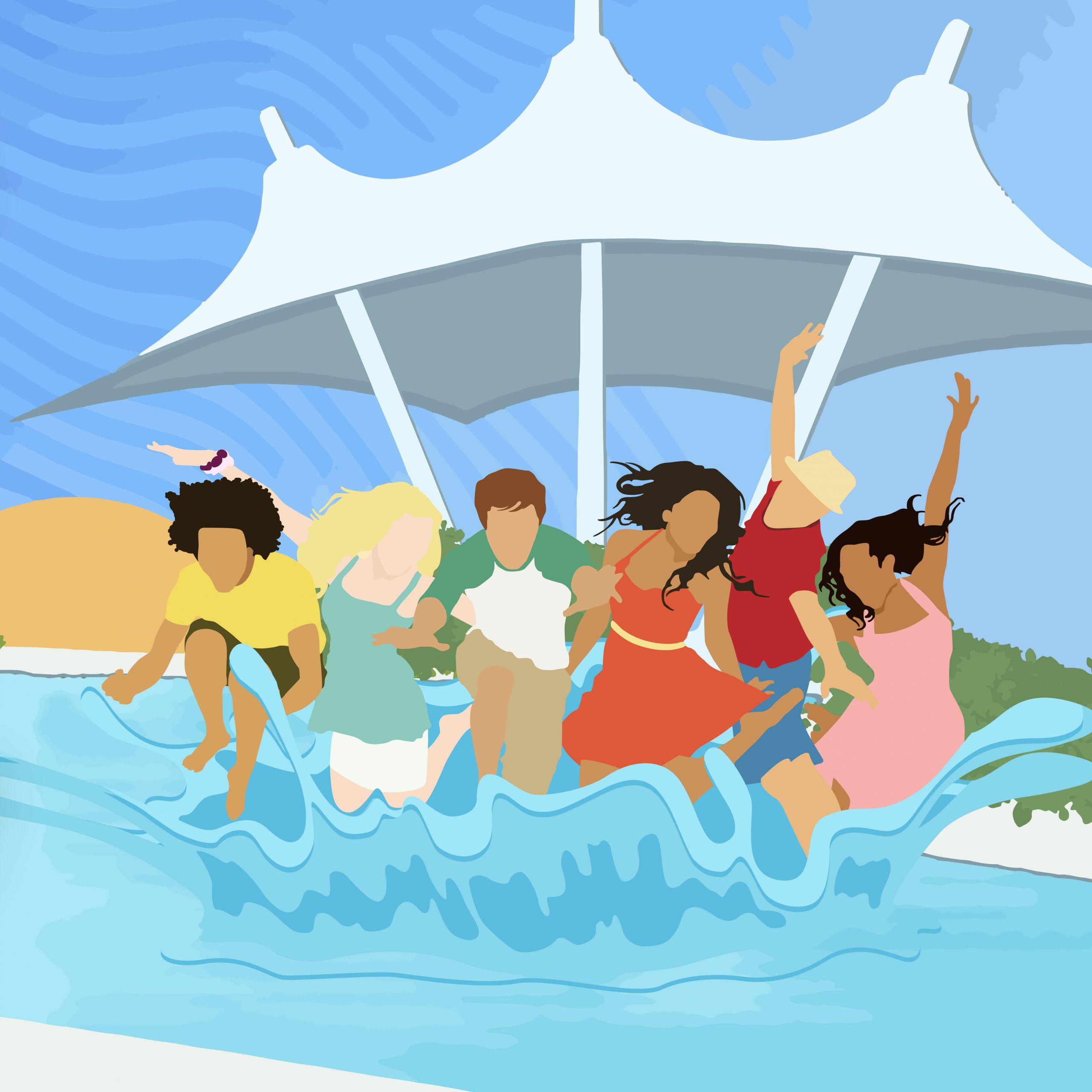 High School Musical 2 Pool Party